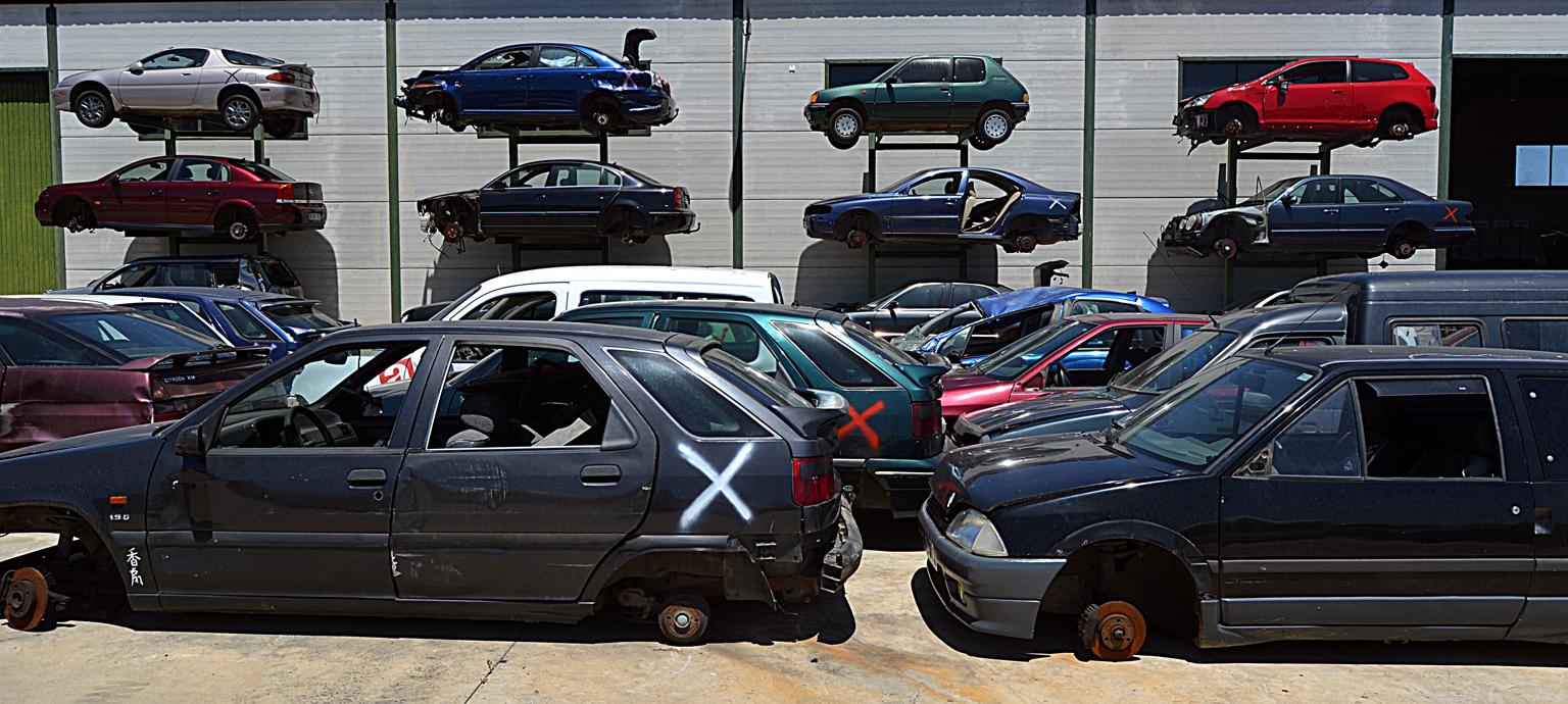 coches desguaces
