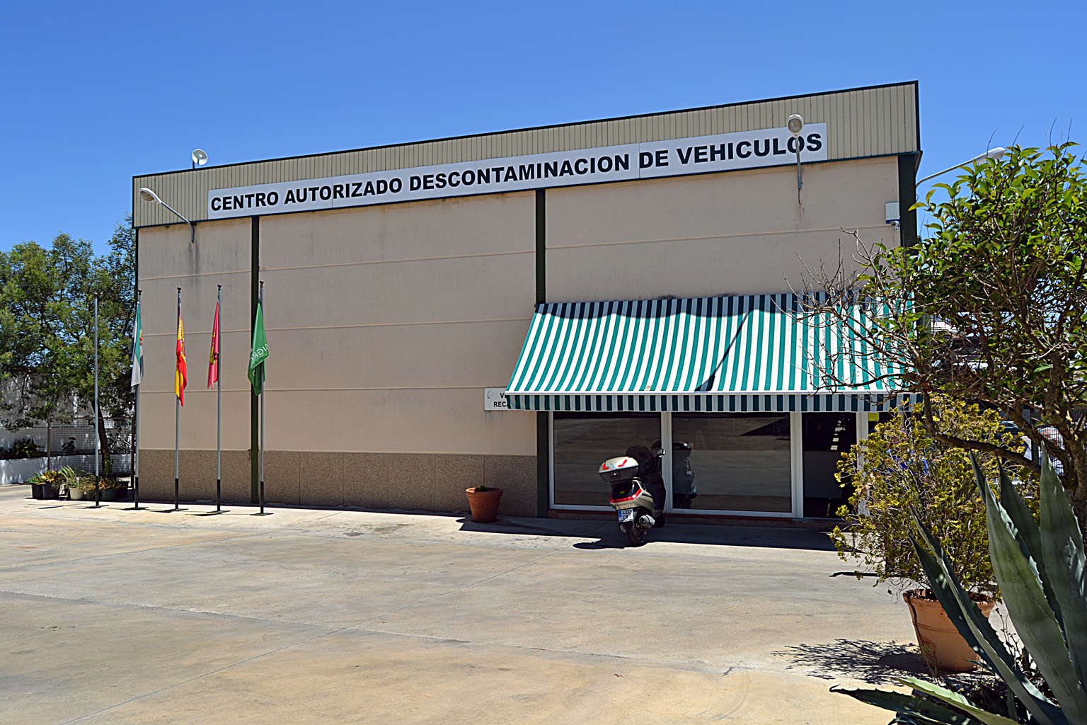descontaminacion de vehiculos