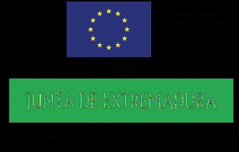 logo EU y Junta de Extremadura apaisado