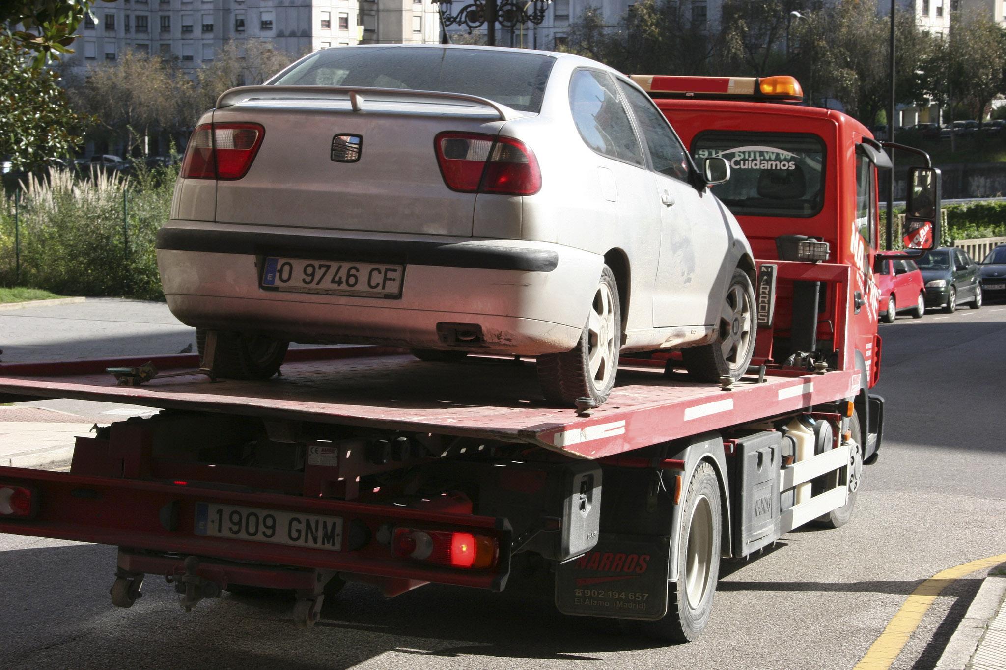 Recogida del vehículo